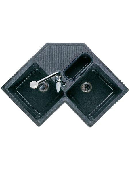 880081000 Мойка кухонная силакриловая двойная Roca Jockey (830 мм)