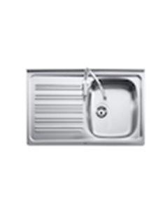 7056_004_01988 Мойка кухонная стальная одинарная Roca P (800 мм)