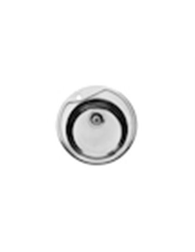 870810515 Мойка кухонная стальная одинарная Roca Ruedo (510 мм)