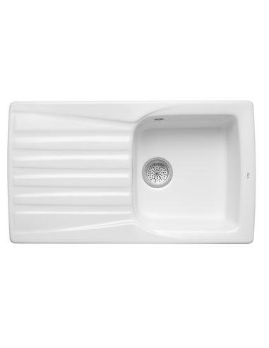 A366067000 Мойка кухонная шамотная одинарная Roca Beverly (860 мм)