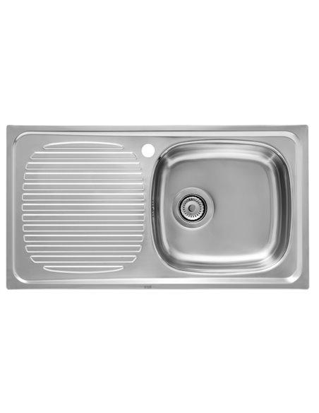 A870240801 Мойка кухонная стальная одинарная Roca J (800 мм)