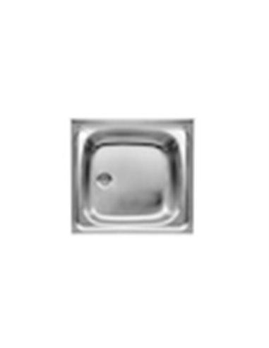 A870410603 Мойка кухонная стальная одинарная Roca E (600 мм)