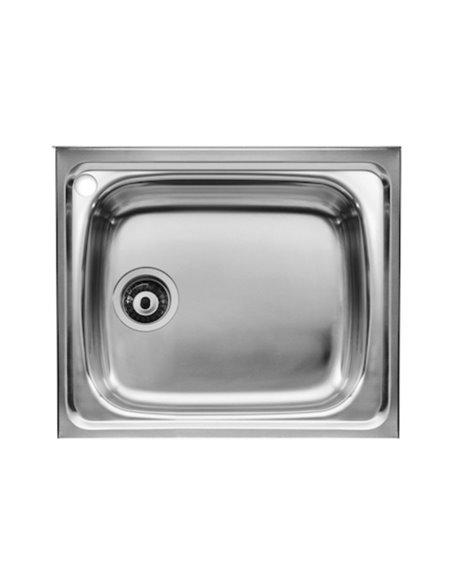 A870510451 Мойка кухонная стальная одинарная Roca J (450 мм)