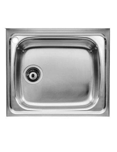 A870510601 Мойка кухонная стальная одинарная Roca J (600 мм)