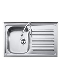 A870530351 Мойка кухонная стальная одинарная Roca J (800 мм)