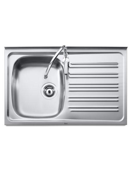 A870530551 Мойка кухонная стальная одинарная Roca J (1000 мм)