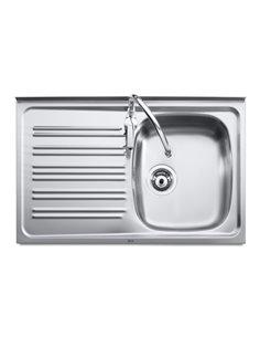 A870540351 Мойка кухонная стальная одинарная Roca J (800 мм)
