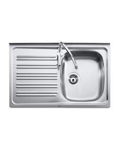 A870540451 Мойка кухонная стальная одинарная Roca J (900 мм)