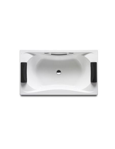 BeCool Прямоугольная акриловая ванна roca с ручками и выпускным комплектом