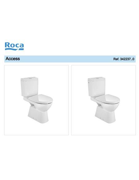 342237000 Унитаз компакт ROCA Access