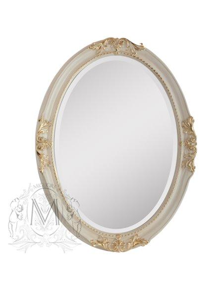 ML.COM-70.503.AV.DO Зеркало CDB овальное (Аворио/декор золото)