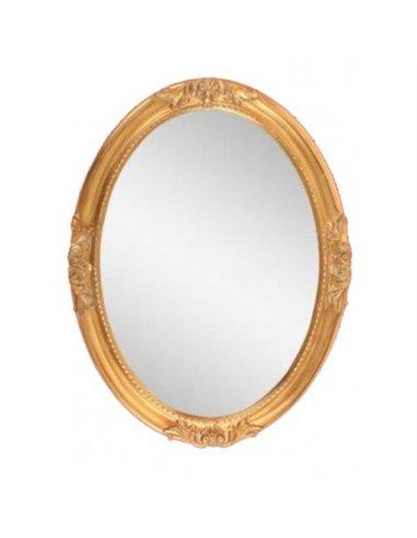 ML.COM-70.503.DO Зеркало CDB овальное (Золото сусальное)