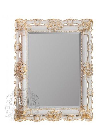 ML.COM-70.508.AV.DO Зеркало CDB прямоугольное фигурное (Аворио/декор золото)