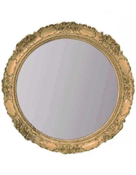 ML.COM-70.509.BR Зеркало CDB круглое (Бронза)