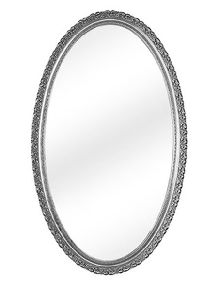 ML.COM-70.510.AG Зеркало CDB овальное (Серебро)