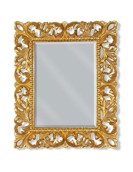 ML.COM-70.701.DO Зеркало CDB прямоугольное ажурное (Золото сусальное)