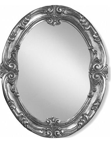 ML.COM-70.702.AG Зеркало CDB овальное (Серебро)