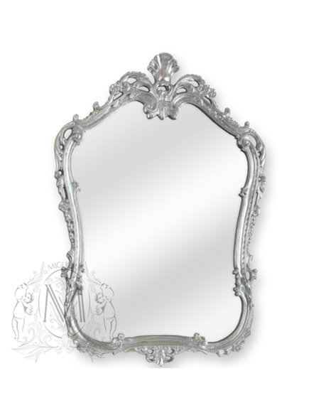 ML.COM-70.706.AG Зеркало CDB фигурное Retro (Серебро)