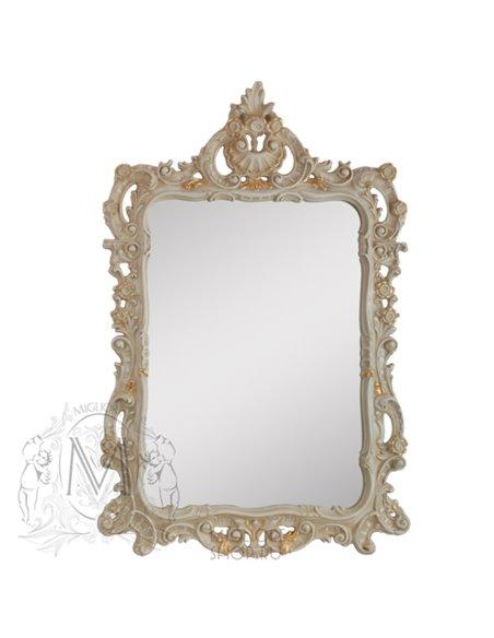 ML.COM-70.715.AV.DO Зеркало CDB фигурное (Аворио/декор золото)