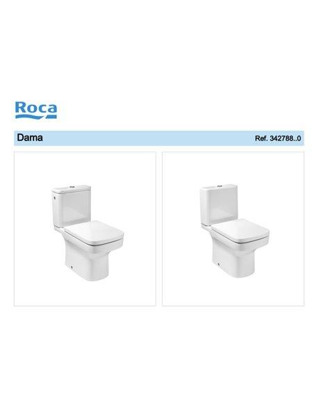 342788000 Унитаз компакт ROCA Dama