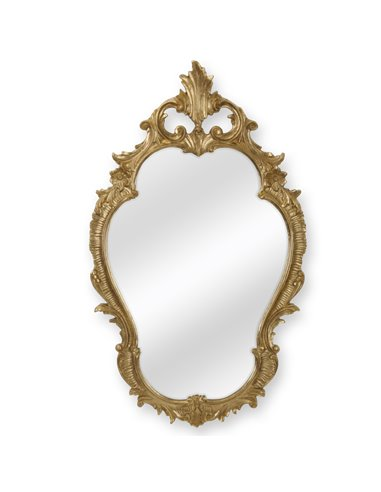 ML.COM-70.725.DO Зеркало CDB фигурное (Золото сусальное)