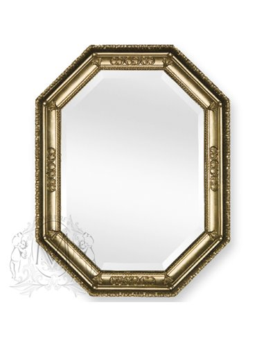 ML.COM-70.727.DO Зеркало CDB фигурное (Золото сусальное)