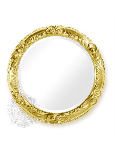ML.COM-70.728.DO Зеркало CDB круглое (Золото сусальное)