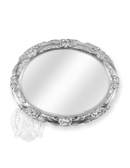 ML.COM-70.781.AG Зеркало CDB овальное (Серебро)