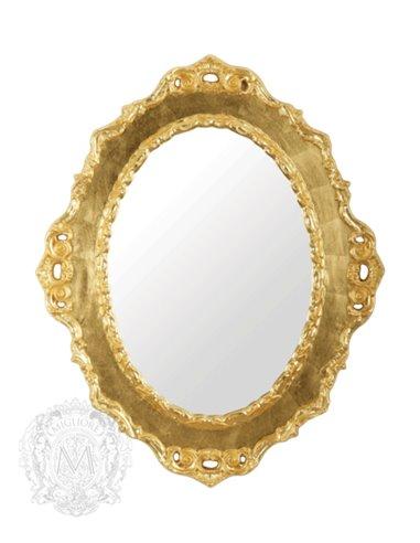 ML.COM-70.784.DO Зеркало CDB фигурное (Золото сусальное)