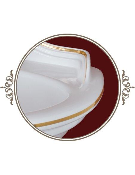 ML.MLD-25.762.D2 Раковина Migliore MILADY (Белый/декор золото D2)