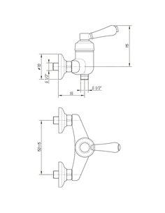 ML.MRL-M060.BR Стакан Migliore MIRELLA (Бронза)