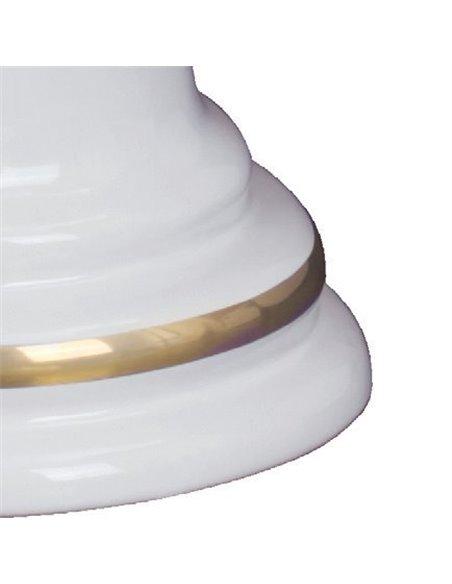ML.MLD-25.701.D2 Унитаз Migliore MILADY (Белый/декор золото D2)