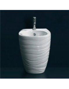 Биде Ceramica Ala Wave напольное WAVBID