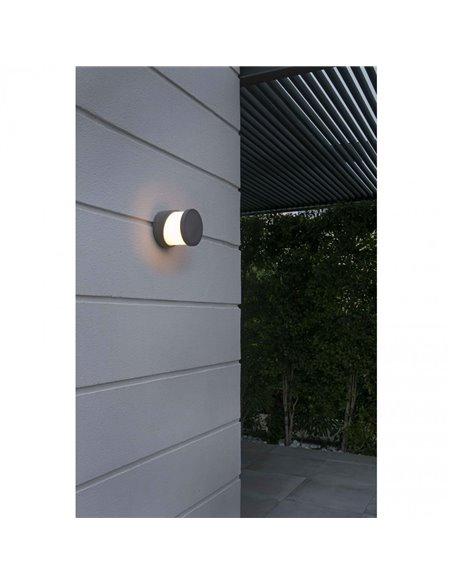Настенный светильник BLOCK серый