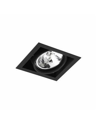 Встраиваемый светильник Colin-1 черный QR-111 50Вт