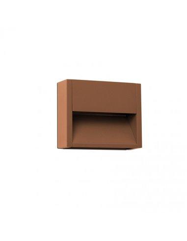 Уличное бра Grada-1 коричневый