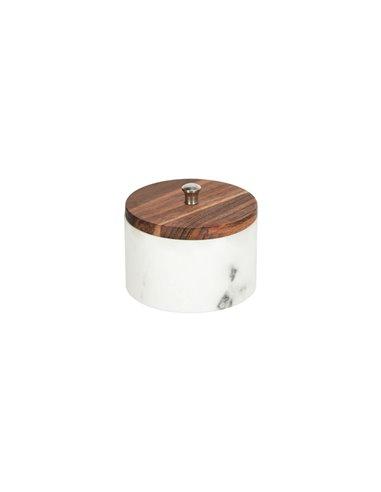 Karla контейнер для ванной комнаты белый маленький