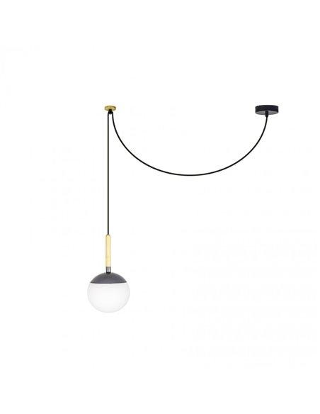 Подвесной светильник Mine темно-серый