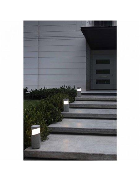 Лампа-маяк Post серый