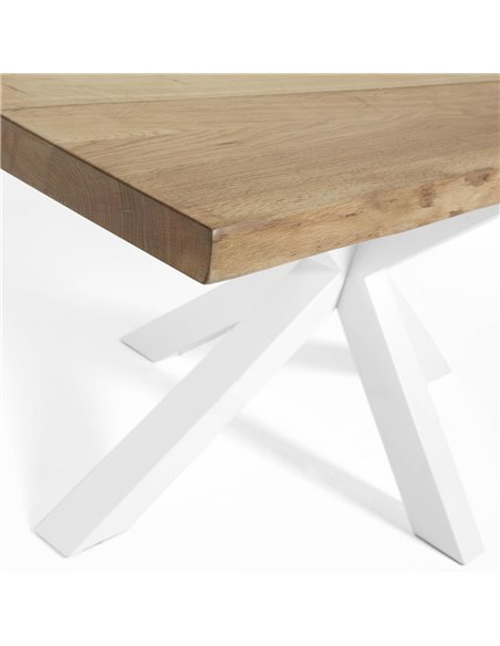 Деревянный стол Arya белый