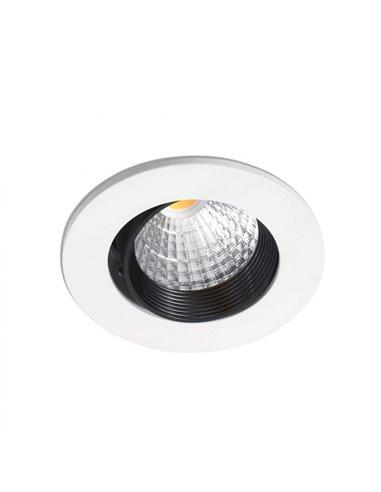 Встраиваемый светильник Nusa белый 7W 2700K 38 °