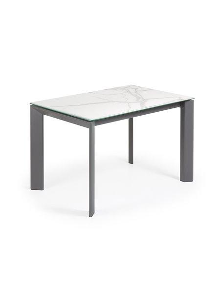 Обеденный стол Atta керамика графит