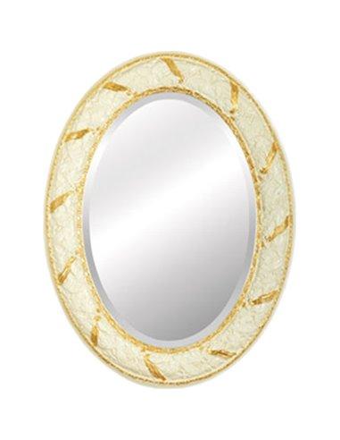 25030 Зеркало CDB овальное (Аворио/декор золото)