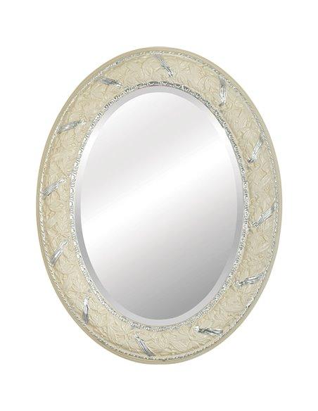 25031 Зеркало CDB овальное (Аворио/декор серебро)
