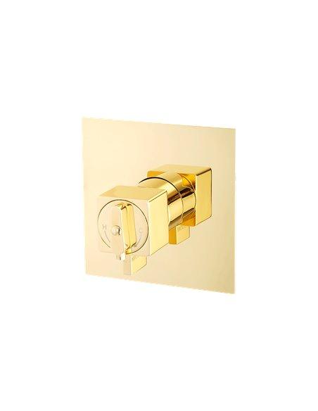 25404 Смеситель Migliore KVANT GOLD (Золото)
