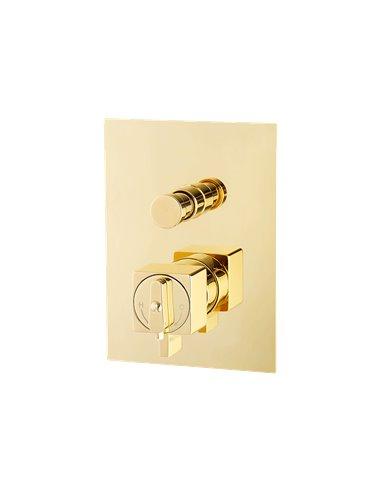 25406 Смеситель Migliore KVANT GOLD (Золото)