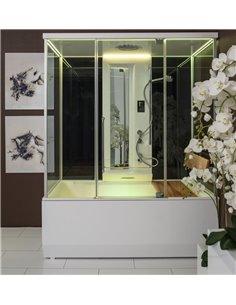 Паровая кабина + ванна Balteco VARIO