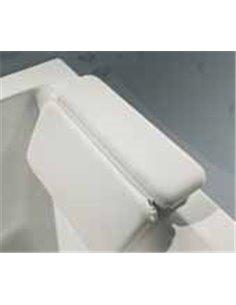 Подголовник Balteco на присосках для ванны (белый)