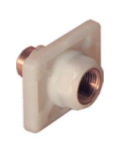 Присоединение углового клапана с латунной вставкой Winkiel WIW-B2-00000229