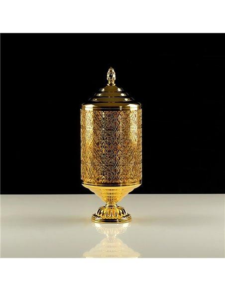 26160 Баночка Migliore LUXOR (золото)